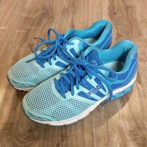 ❄️ 3/$25 FILA Blue Mesh Sneakers Running S…